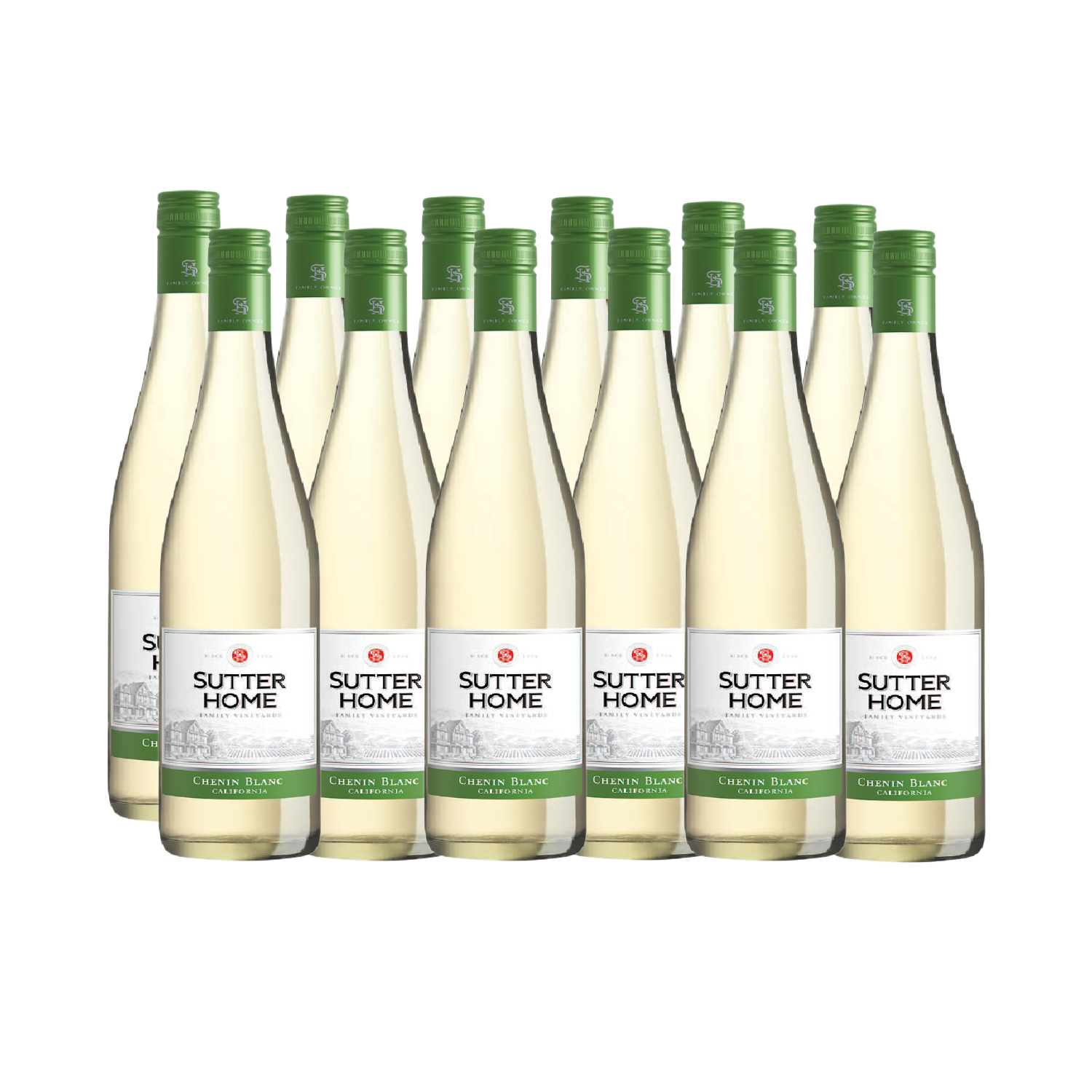 SUTTER HOME CHENIN BLANC 750ML (12 + 2 BOTTLES FREE)