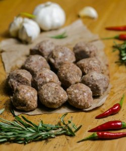 FROZEN BEEF MEATBALL 25GM X 12PCS/PKT