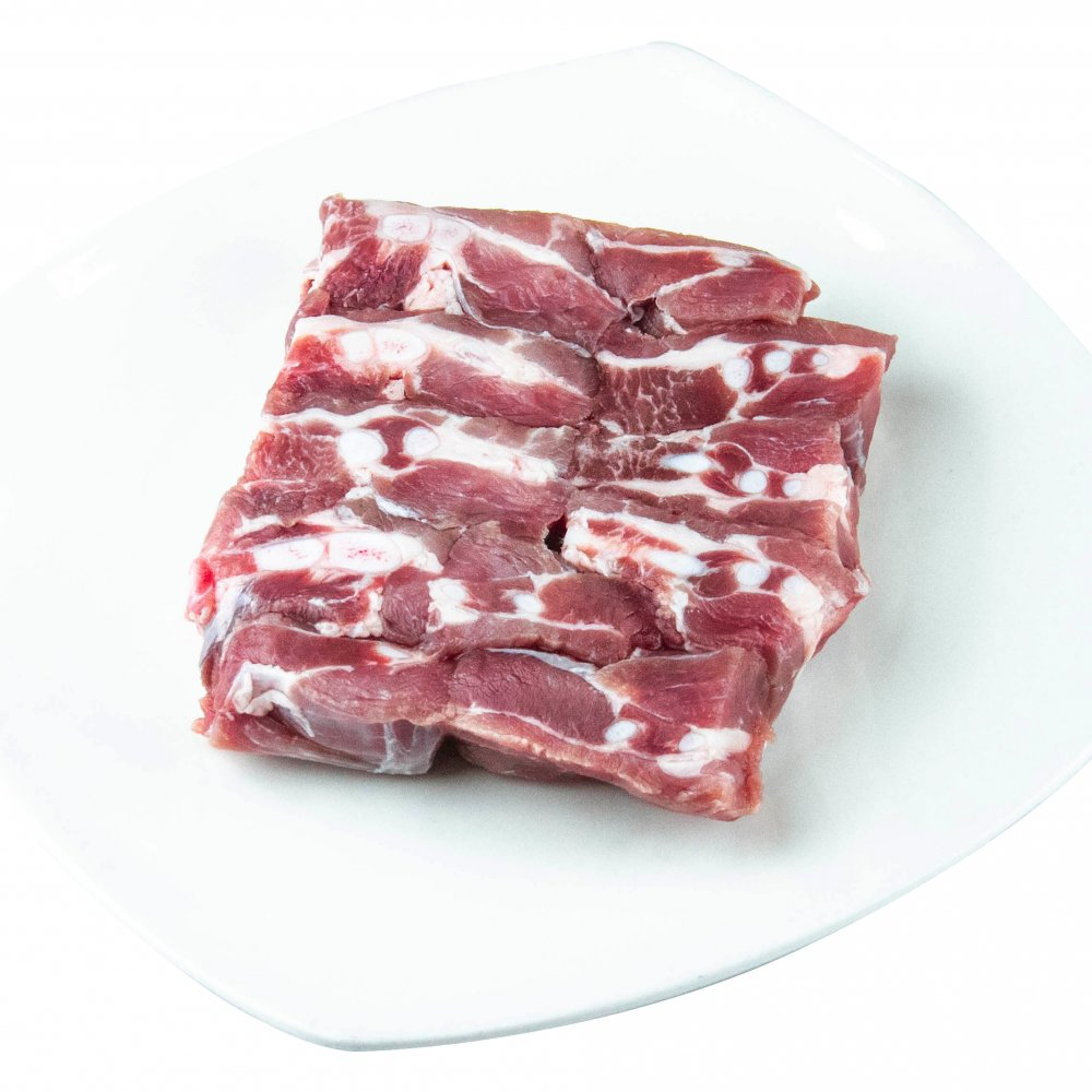 FROZEN PORK SOFT BONE 500GM/PKT