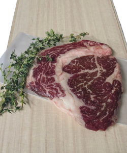 CHILLED GRAIN FED 350DAYS WAGYU RIBEYE 300-320GM