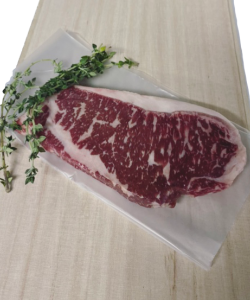 CHILLED GRAIN FED 350DAYS WAGYU STRIPLOIN 300-320GM