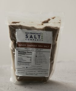 SAN FRANCISCO SMOKED ALDERWOOD SALT 2LB/PKT (FINE GRAIN)