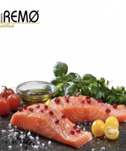 Brodr.Remo Salmon Portions - Frozen 200g