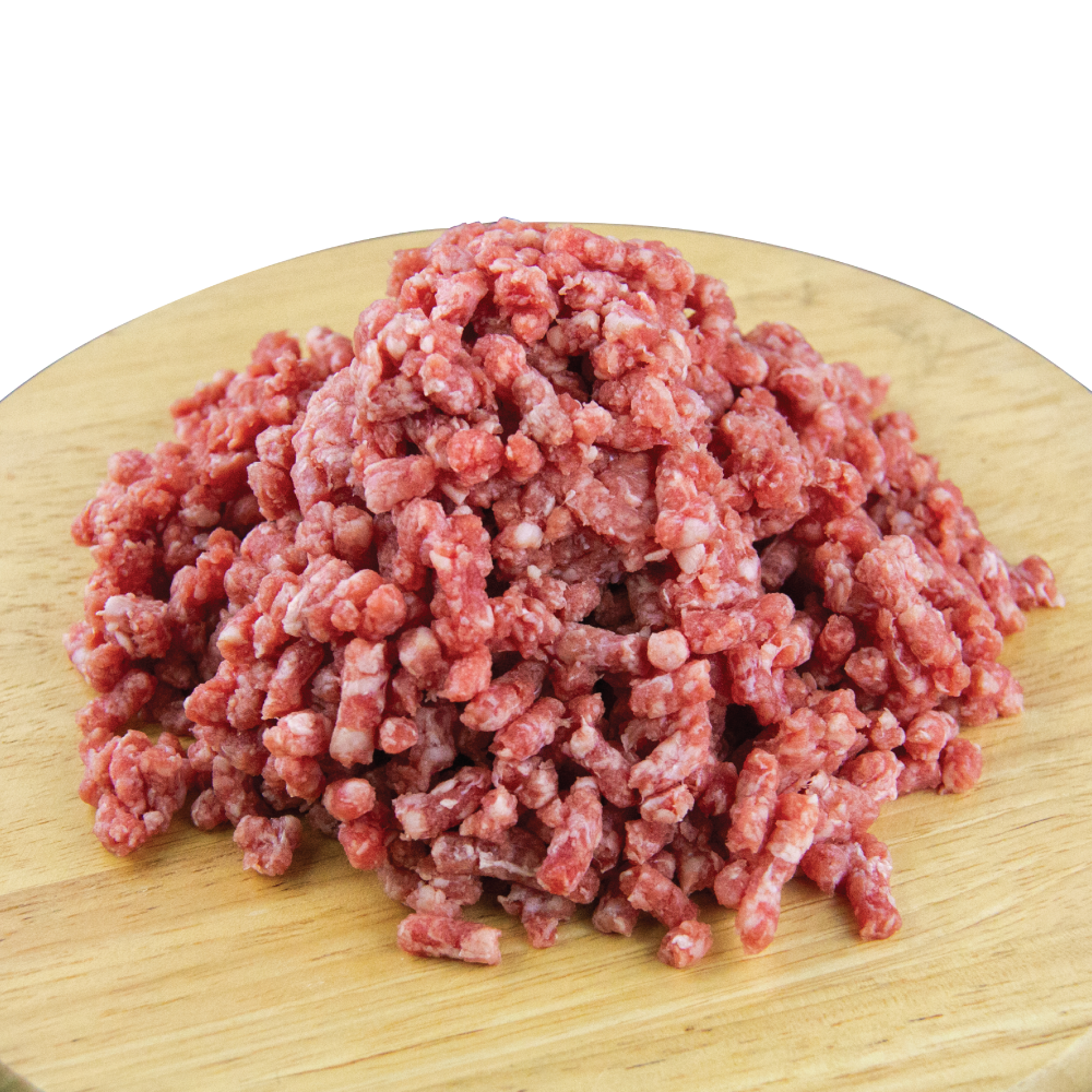 FROZEN BLACK ANGUS MINCED BEEF 500GM