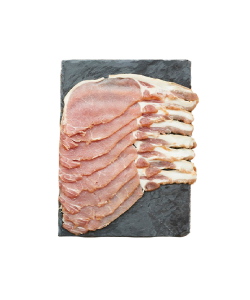 FROZEN BACK BACON PRE-SLICED 250GM/PKT