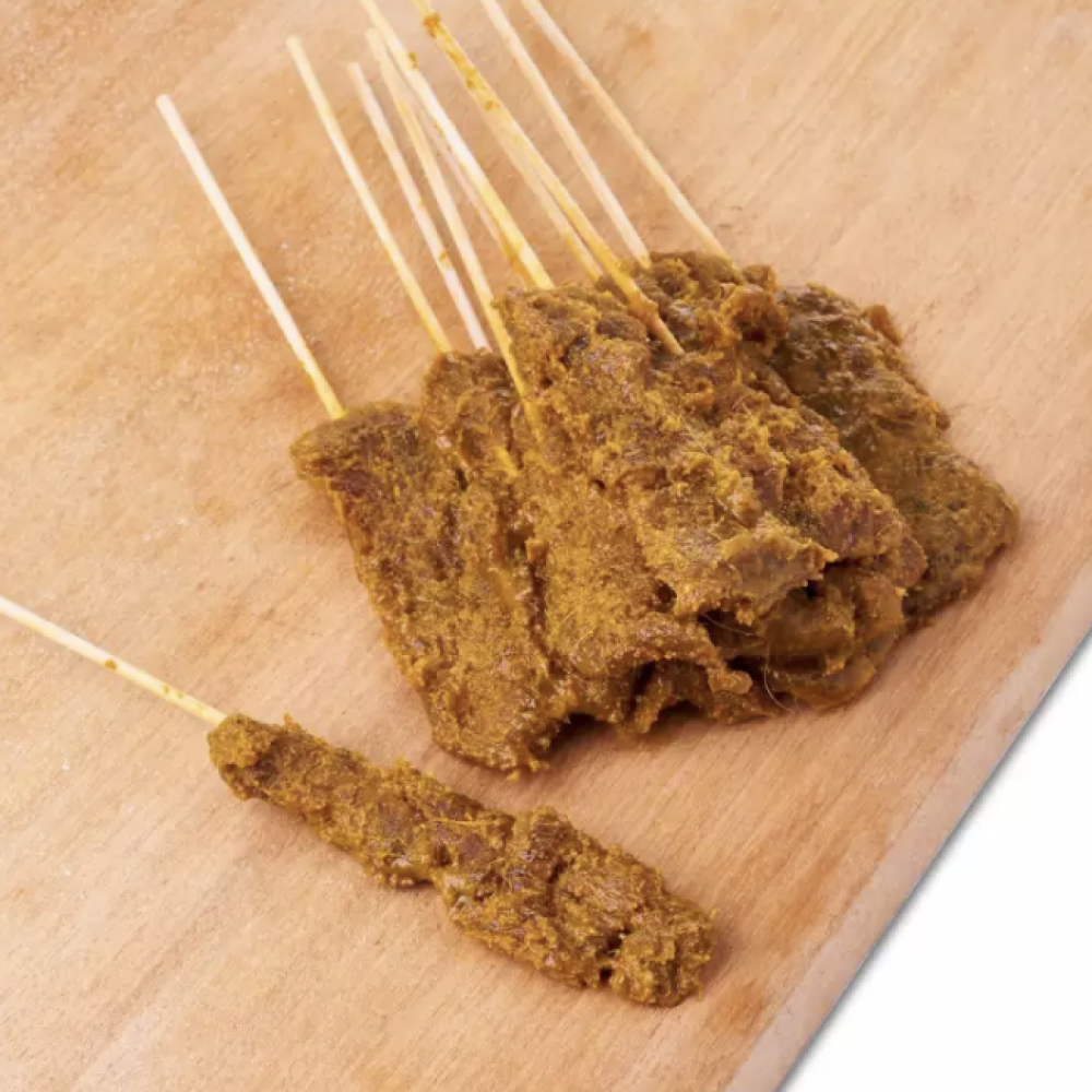 FROZEN BEEF SATAY  12 STICKS ( WITH SATAY SAUCE)