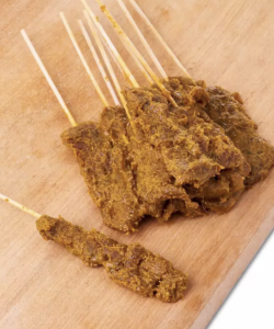 FROZEN BEEF SATAY 30 STICKS ( WITH SATAY SAUCE)
