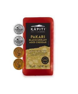 KAPITI BLACKCURRANT AGED CHEDDAR 170GM