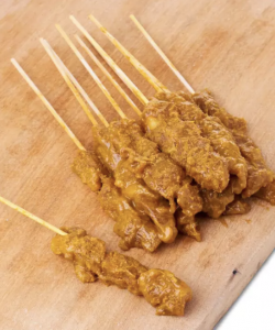 FROZEN CHICKEN SATAY 12STICKS (WITH SATAY SAUCE)