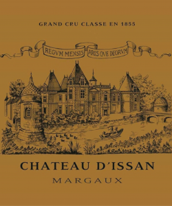 CH. D'ISSAN MARGAUX 750ML   VINTAGE 2016 ( 6BTLS / WOODEN CASE )