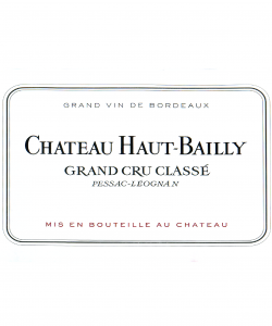 CH. HAUT-BAILLY PESSAC LEOGNAN ROUGE 750ML VINTAGE 2014 ( 12BTL/ WOODEN CASE)