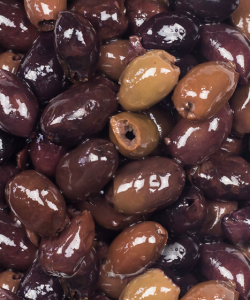 BELAZU PITTED KALAMATA OLIVES  200GM/PKT