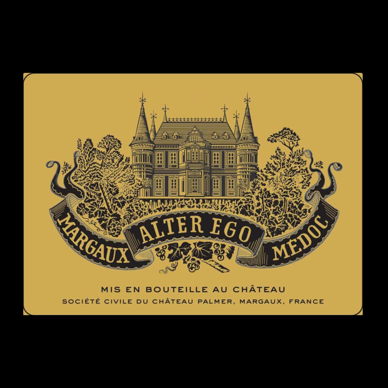 ALTER EGO DE PALMER MARGAUX 750ML   VINTAGE 2017 ( 6BTLS / WOODEN CASE )