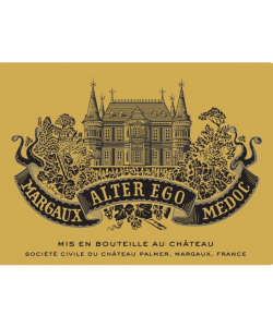 ALTER EGO DE PALMER MARGAUX 750ML  VINTAGE 2012 ( 6BTLS / WOODEN CASE )