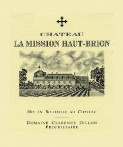 CH. LA MISSION HAUT-BRION PESSAC LEOGNAN ROUGE 750ML VINTAGE 2007