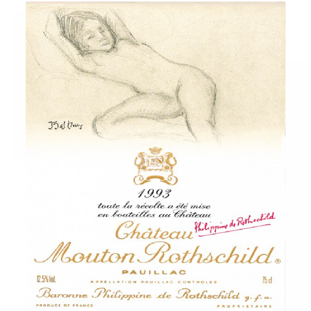 CHATEAU MOUTON ROTHSCHILD  VINTAGE 2004  750ML