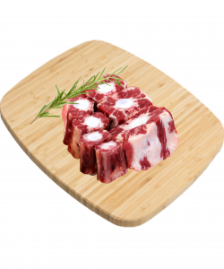 FROZEN BEEF OX-TAIL CUT 500GM/PKT