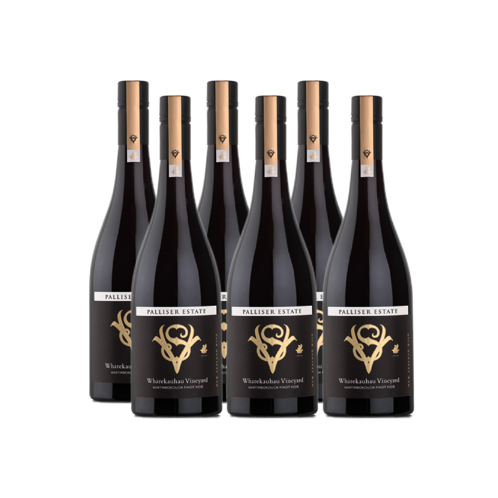 WHAREKAUHAU SINGLE VINEYARD PINOT NOIR 750ML  (6 BOTTLES)