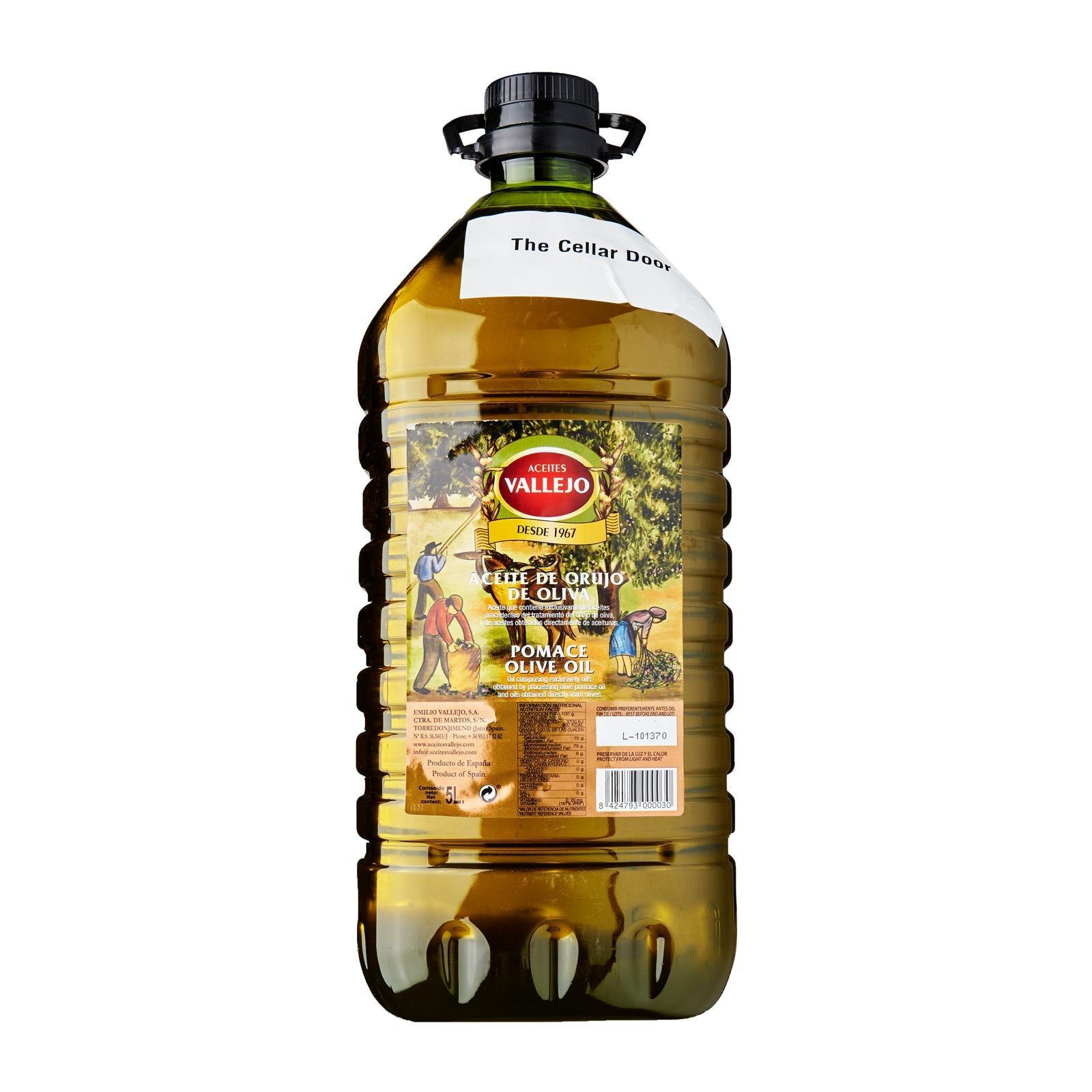 ACEITES VALLEJO POMACE OLIVE OIL 5L/PET