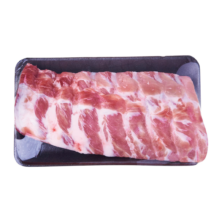 FROZEN PORK BABY BACK RIBS  550GM/PKT