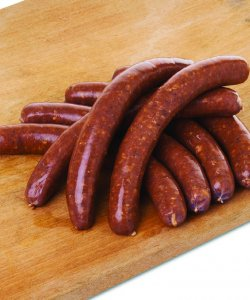 FROZEN MERGUEZ LAMB SAUSAGE 75GM X 7PCS/PKT
