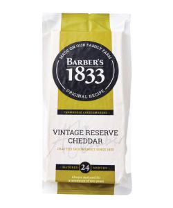 Barber's 1833 Farmhouse Cheddar Wedge