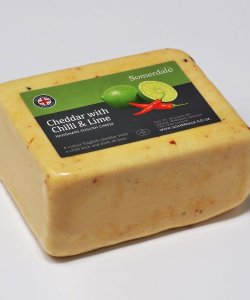 Somerdale Cheddar with Chilli and Lime