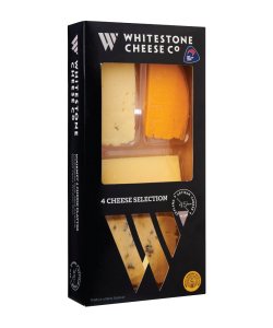 4 CHEESE PLATTER 280GM  - WHITESTONE