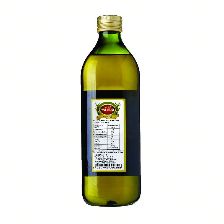Aceites Vallejo Extra Virgin Olive Oil - 1ℓ