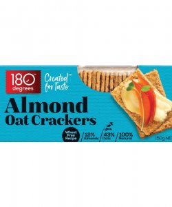 180 Degree Almond Oat Crackers