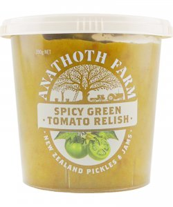 Anathoth Farm Spicy Green Tomato Relish