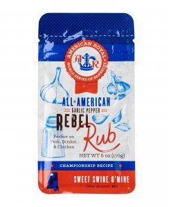 American Royal All American Garlic Pepper Rebel Rub