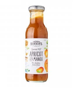 BARKER'S OF GERALDINE APRICOT WITH MANGO SAUCE 330GM/BTL