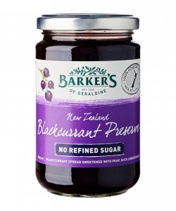 Barker's Of Geraldine Blackcurrant Spread
