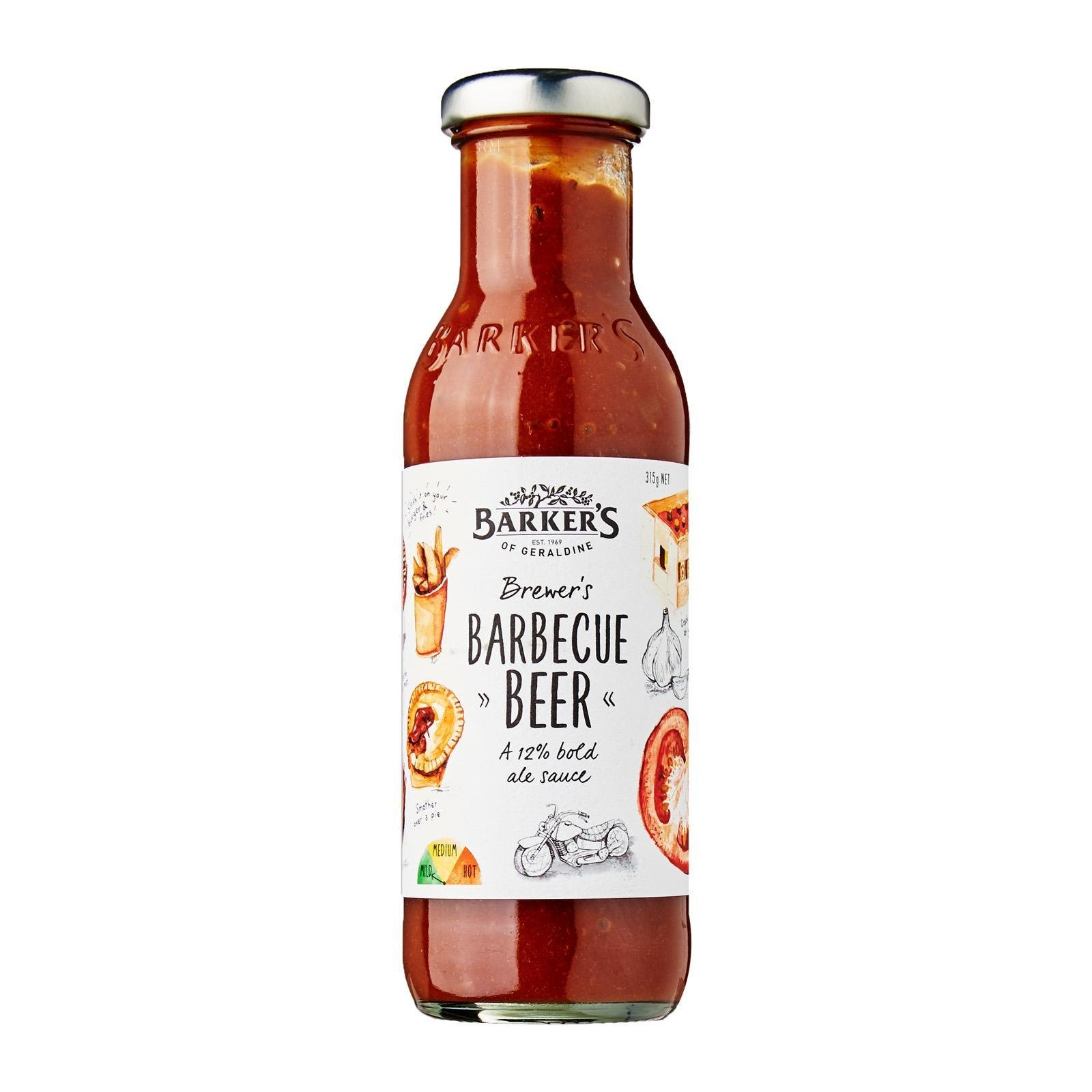 Barker's Of Geraldine Brewer's Barbeque Beer