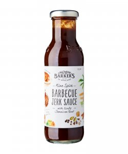 BARKER'S OF GERALDINE NINE SPICE BBQ JERK 330GM