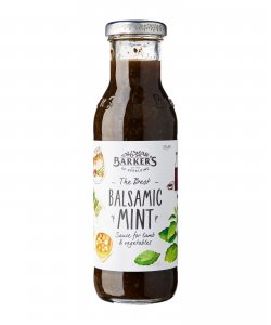 BARKER'S OF GERALDINE BALSAMIC MINT SAUCE 320GM/BTL