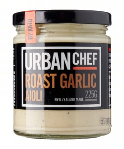 URBAN CHEF ROAST GARLIC AIOLI 225GM