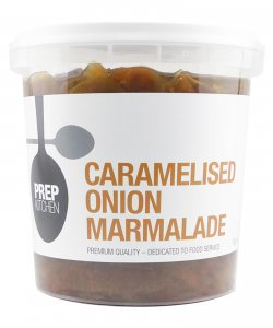 PREP KITCHEN MARMALADE CARAMELISED ONION 200GM/PKT