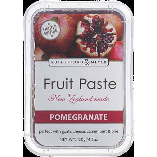RUTHERFORD & MEYER POMEGRANATE PASTE 120GM