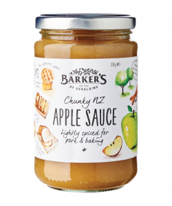 Barker's Of Geraldine Chunky NZ Apple Sauce