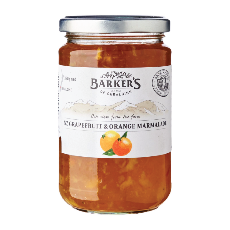 Barker's Of Geraldine Grapefruit And Orange Marmalade