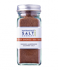 San Francisco Salt Company Alderwood Smoked Sea Salt Shaker