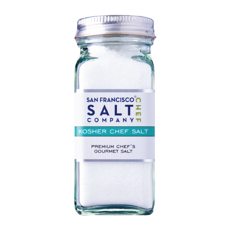 SAN FRANCISCO KOSHER CHEF SALT 3OZ SHAKER JAR