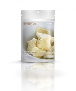 FRESH AS PINEAPPLE CHUNKS 40GM
