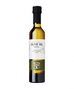 BELAZU EXTRA VIRGIN OLIVE OIL INFUSED BASIL 250ML/BTL