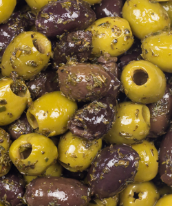 BELAZU MIXED PITTED OLIVES 200GM/PKT