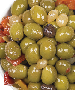 BELAZU CASABLANCA OLIVES 200GM/PKT