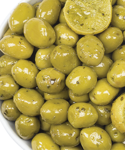 Belazu Lemon, Basil & Mint Olives