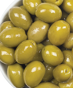 Belazu Queen Green Chalkidiki Olives